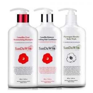 SanDaWha Camellia Body Care Set